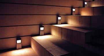 Luminárias para escada